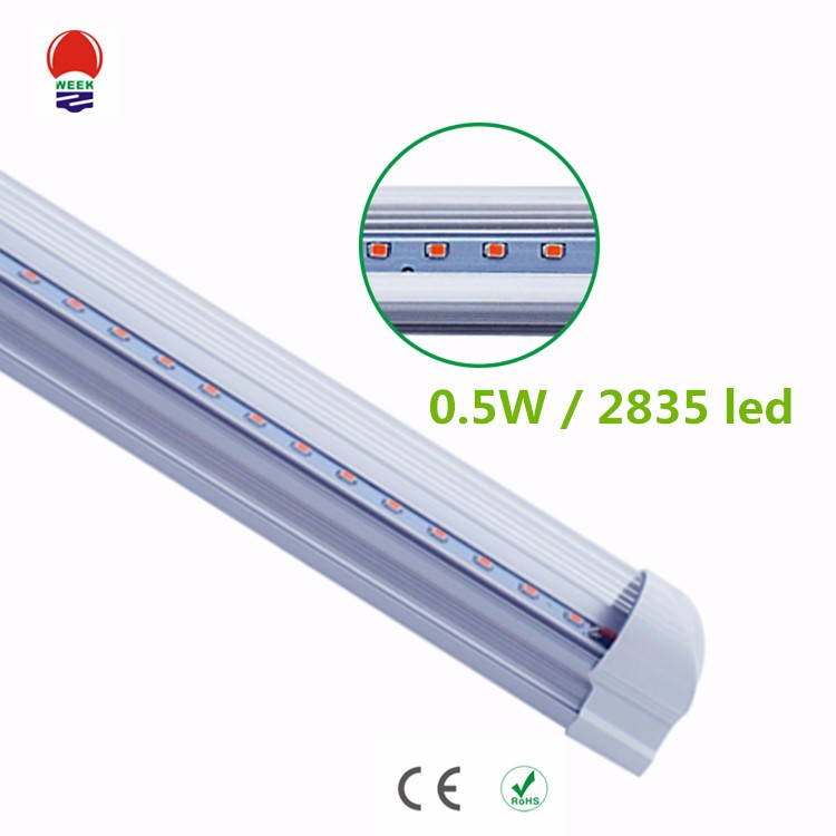 Best selling full sepctrum red blue color T5 or T8 tube led grow light led plant light
