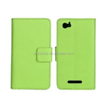 New Slim Wallet Stand Case Mobile Phone Leather case For Sony Xperia M C1904/C1905