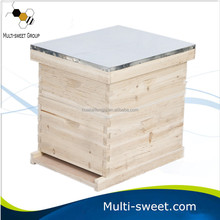 Two Layer Wooden Beehive for Sale Langstroth Beehive