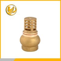 water pump foot valve