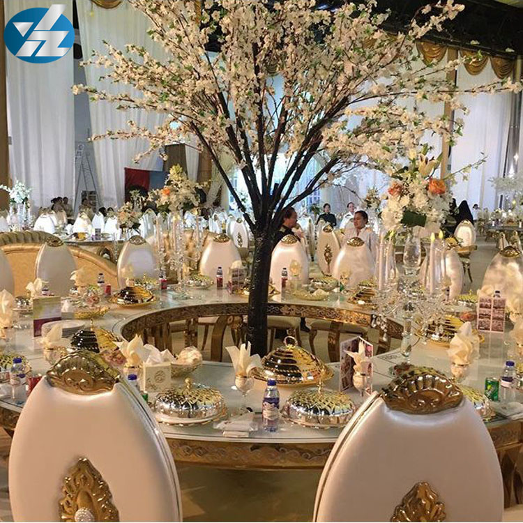 2019 Most Popular Golden Stainless Steel Wedding Event Chair