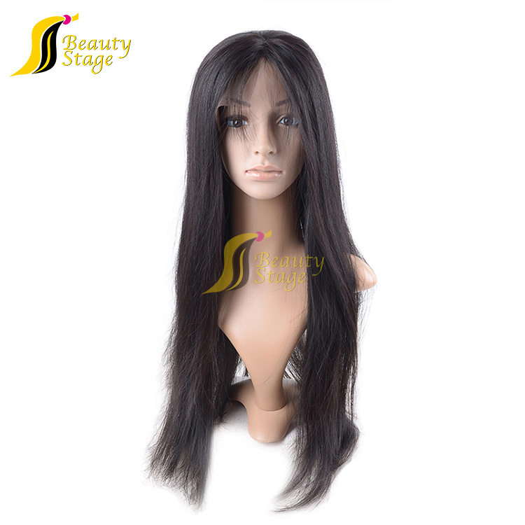 7A Grade virgin hair double drawn cambodian hair full lace wig,fashion hair wigs for young women,60 inch human hair wig to buy