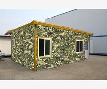 Prefabricated Movable Modern  insulated prefab house fast build