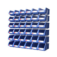 Warehouse spare parts storage plastic stackable bin and box manufacturer