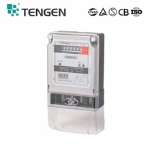TENGEN factory supply DDS686 single phase digital energy meter Electrical Energy Meter