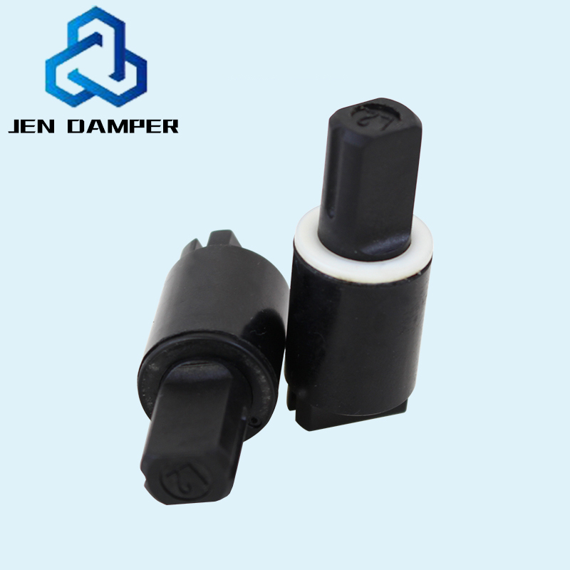 Factory Wholesale Plastic Universal Slow Descent Soft Close Washing Machine Parts Cover Damping Hinges