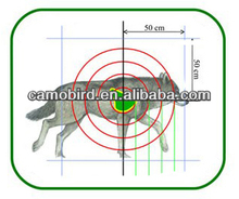 Wildlife Wolf Air Brush Picture for Hunting Shooting Practice Wolf Target for Traning