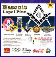 Mosanic Promotional metal brass gifts cheap custom hard enamel pin badges