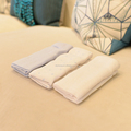 Eco-Friendly Super Soft Plain Color Bamboo Blanket Baby
