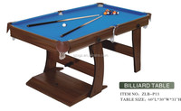 high quality foldable chinese pool table wholesale 2015