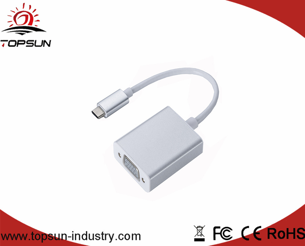 TSC-021 USB 3.1 Type- C to Adapter/ Type C to multiport Connector for new macbook and mobile phone