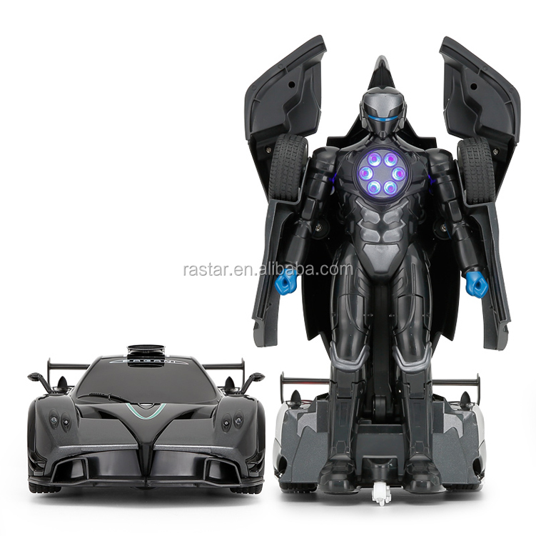 Rastar PAGANI toy wholesale electric rc transform robot car