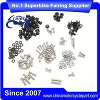 FBTKA011 Motorcycle Stainless Steel Fairing Bolt Well nut fastenerss Kit For ZX 14R ZX14R 2006-2011