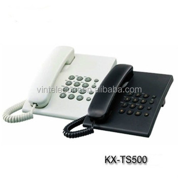 Cheapest telephone set KX-TS500 corded analog phone
