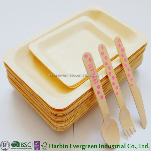 2017 Best Selling Product in USA Disposable Wooden Utensils