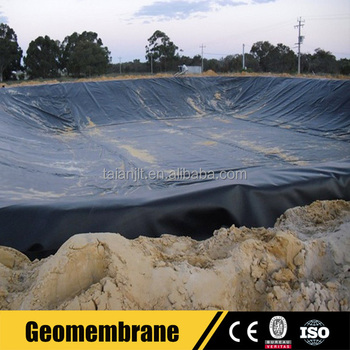 Pond hdpe geomembrane liner waterproofing material for for Pond liner material