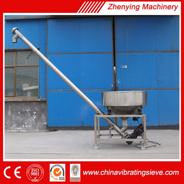 High quality SUS304 screw used grain conveyors