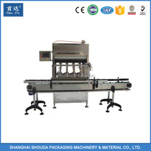 Automatic High quality liquid detergent/ soap/hand washing /toilet cleaner filling machine