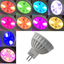 MR16 RGB+CCT Mi Light LED Spotlight 12V AC/DC