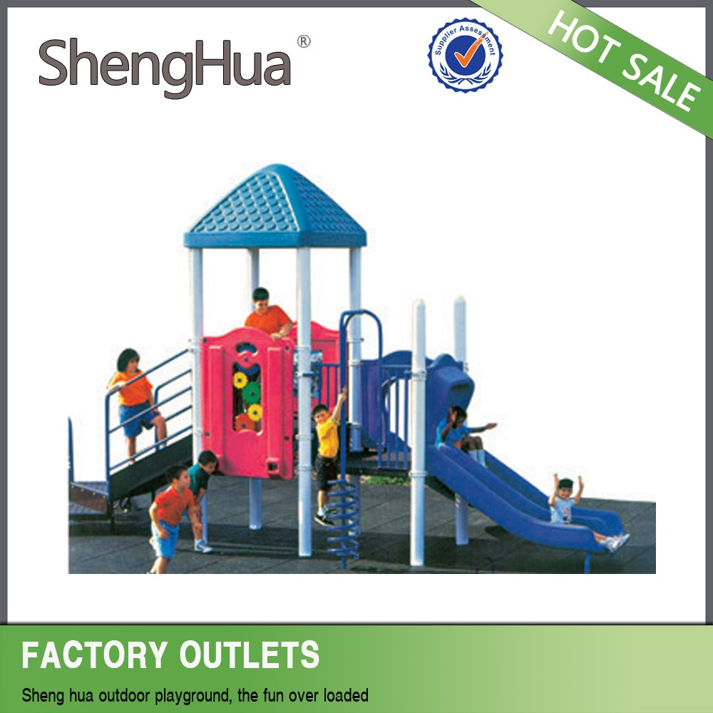 EN1176 Standard School/Kindergarden/Playcenter/Yard Plastic Kids Outdoor Playground