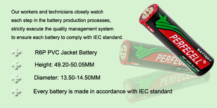 Excellent Dry Battery ISO9001:2008; SGS 1.5V Payment Terms l c t t Battery