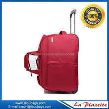 Alibaba China rubber duffel bag with trolley