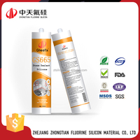 Weather proof and water proof high-temp silicone adhesive