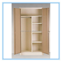 Steel bedroom portable wardrobe closet design