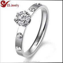 Best Selling 925 Sun Wedding 5925 Silver Diamond Ring Big Stone Gold Ring Designs