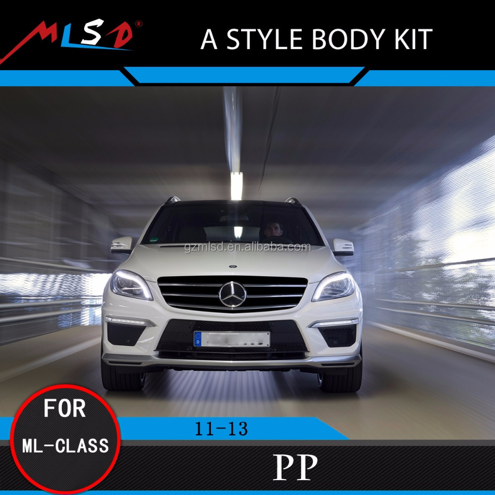 High Quality MLSD Hot Sale A Style Body Kits for Mercedes-Benz ML- Class 11-13