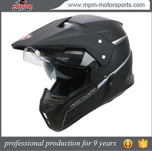 Full Face Motorcycle Off-road Helmet Dual-lens