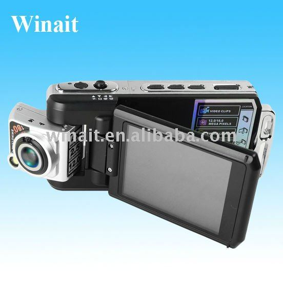"HD720P Car Camera DV Portable DVR Video Recorder with 2.5"" TFT Colorful Screen"
