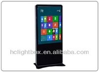 46inch Multi touch screen monitor advertising kiosk
