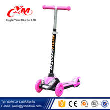 2017 Alibaba China factory new model kids scooter/wholesale 3 wheel cheap kids scooter/top quality Fun toys child scooter