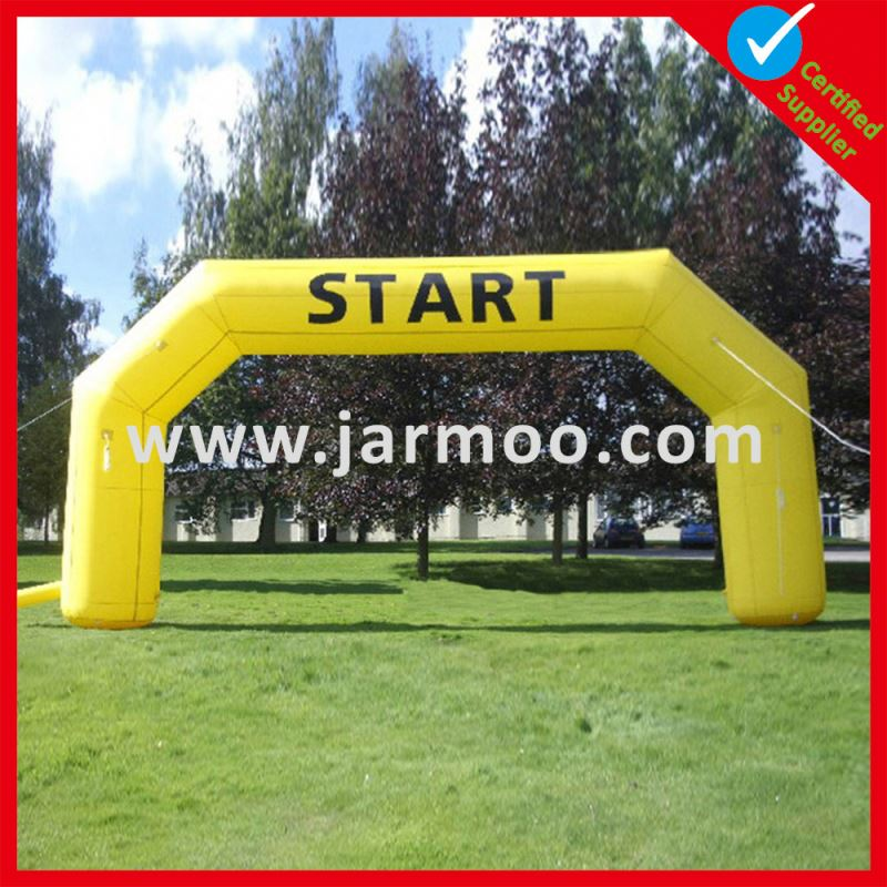 Sport start Christmas tree arch for holiday decoration Outdoor Usage cheap inflatable arch