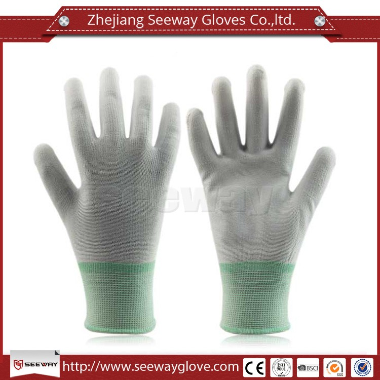 Seeway Light Weight PU Coated Nylon Working Gloves