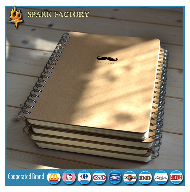 Hot sale A4 A5 A6 wholesale custom spiral notebook