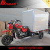 300CC three wheel motorcycle with closed cargo box