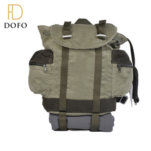 New design blackish green foldable waterproof backpack travel bag