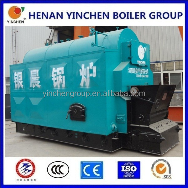 dzl superheater steam boiler with level control and steam turbine-generators 500kw