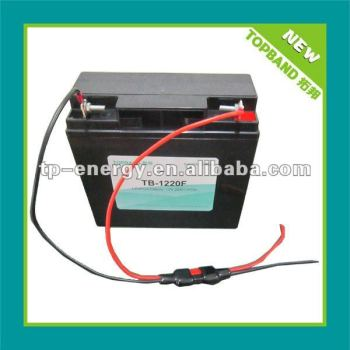 lifepo4 12v 20ah battery pack