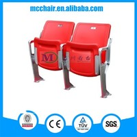 Cancer concert or lecture hall chair plastic seats folding seat foldable outdoor chair