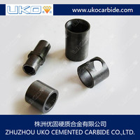 custom making tungsten carbide spray type wear parts as to drawing size