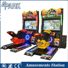electronic simulator moto hero driving car racing game machine