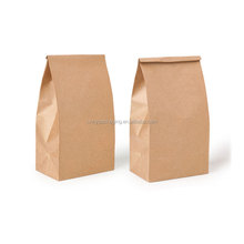 Personalized custom size brown kraft paper bag