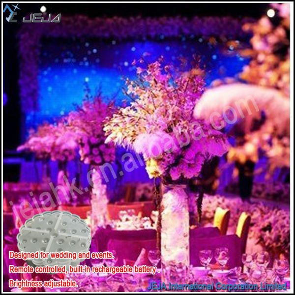 Remote Control Led Table Centerpiece Table Floral Arrangements <strong>Wedding</strong>