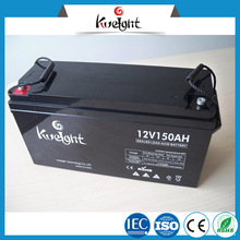 12V 150AH Battery deep cycle gel rechargeable battery for solar system