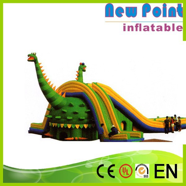 New Point factory sale hot popular Inflatable Dragon Slide for adults and kids