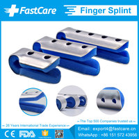Aluminium Metal Frog Baseball Finger Splints