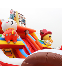 Wanyun cheap commercial inflatable bouncer combo inflatable jumping castle inflatable bouncy castle slide